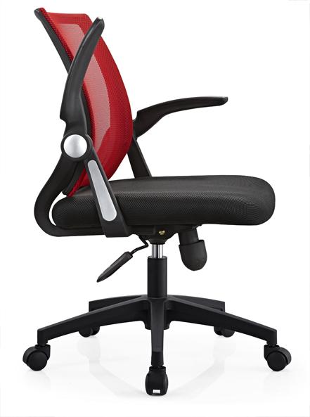 High Back Adjustable Armrest Black Ergonomic Mesh Office Chair