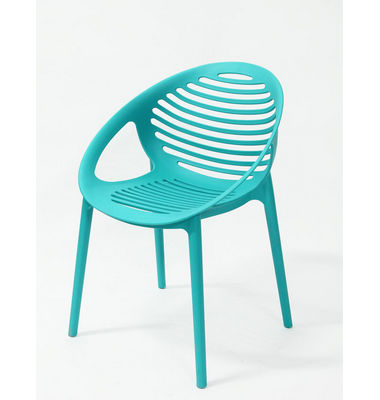 Leisure colorful dining restaurant plastic chair
