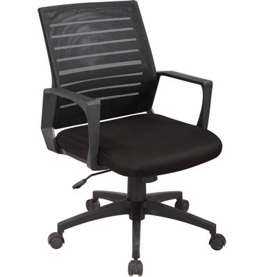 Modern swivel low back office managerial mesh computer chair with PP armrest