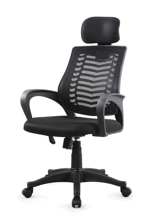5 Star steel feet plastic adjustable armrest lifting middle back office computer ergohuman mesh chair