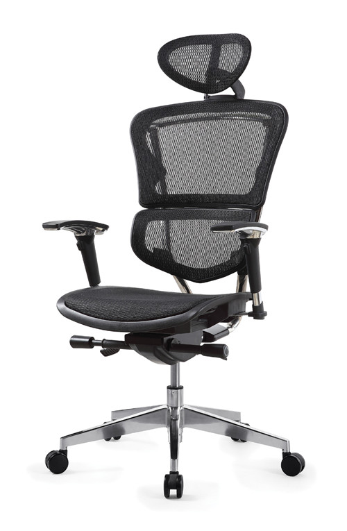 Swivel mesh chair office from Foshan/High back best ergonomic executive office chair