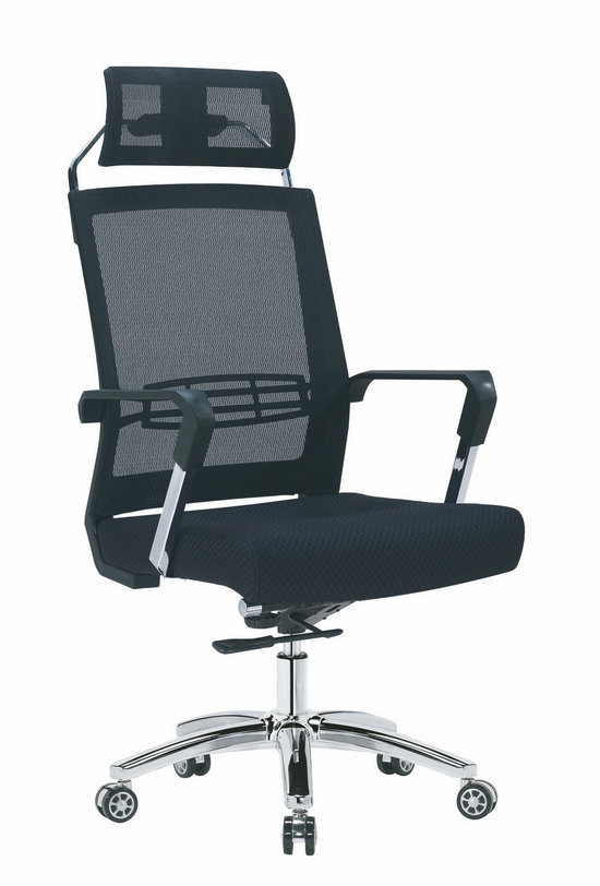 Factory direct full mesh high back ergonomic office chair with lumbar support -2
