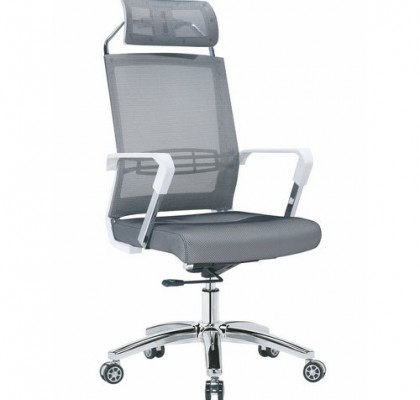 Factory direct full mesh high back ergonomic office chair with lumbar support headrest