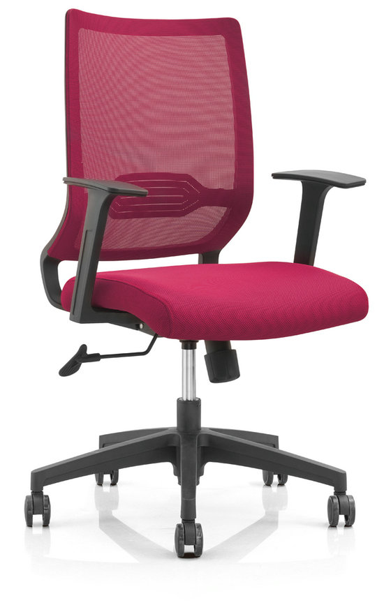Modern Design Mesh Adjustable Mechanism Office Workers Chair Staff Computer Armchair -1