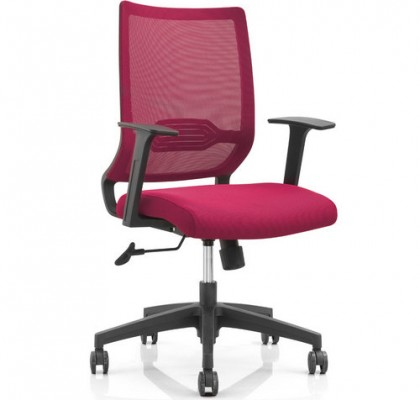 Modern Design Mesh Adjustable Mechanism Office Workers Chair Staff Computer Armchair