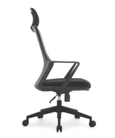 modern computer chairs. Modern Ergonomic Staff Office Black Plastic Mesh Chair Swivel Computer Chairs -2 I