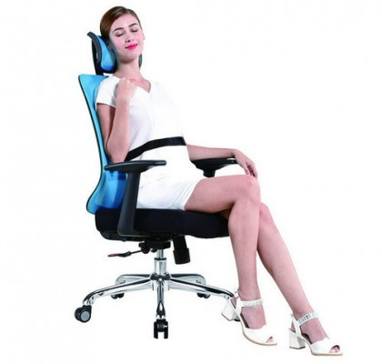 high back swivel affordable staff task chair comfortable manager office clerk computer chair