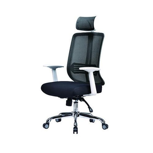 Affordable Design Best Quality Ergonomic Computer Desk Mesh Office Chair With Fixed Armrests -3