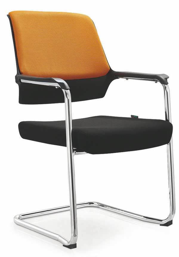 Ergonomic conference meeting room chairs on wheels cheap staff armchair -2