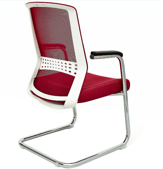 Foshan Factory Low Price mesh ergonomic conference meeting room chairs visitor chair -2