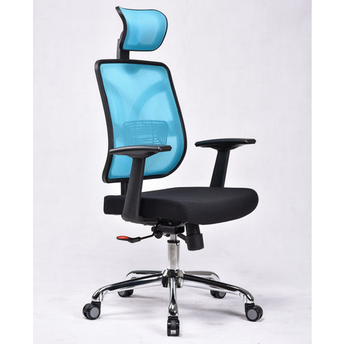 Full Mesh Chair 360 degree revolving staff conference meeting chair used office room chair -1