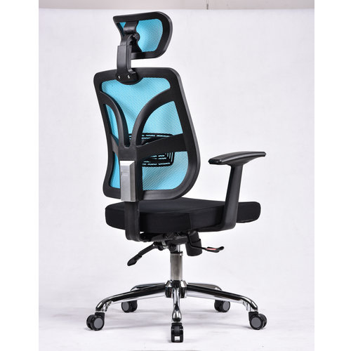 Full Mesh Chair 360 degree revolving staff conference meeting chair used office room chair -2