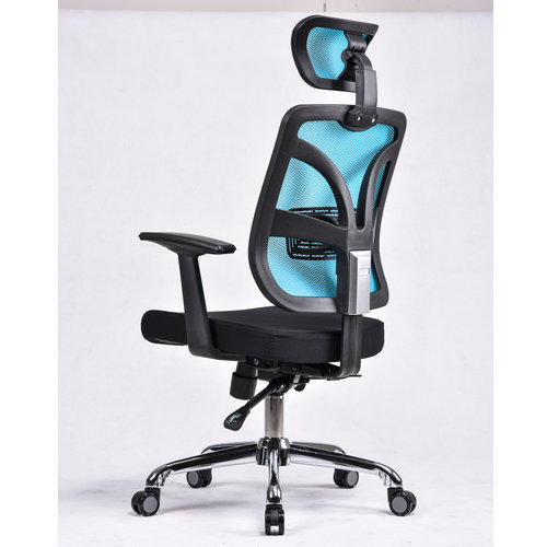 Full Mesh Chair 360 degree revolving staff conference meeting chair used office room chair -3