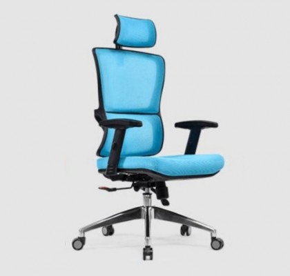 High Quality plastic ergonomic seating adjustable mesh back lumbar support manager executive boss office chair