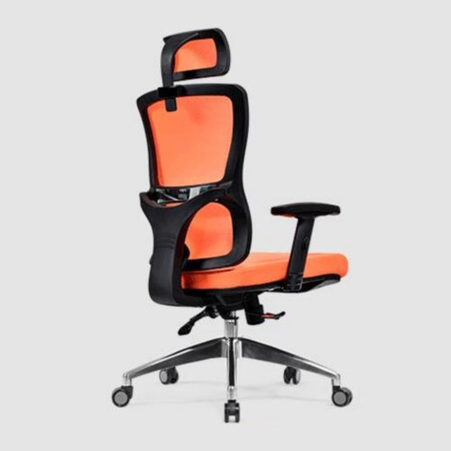 High Quality plastic ergonomic adjustable mesh back lumbar support manager executive boss office chair -3