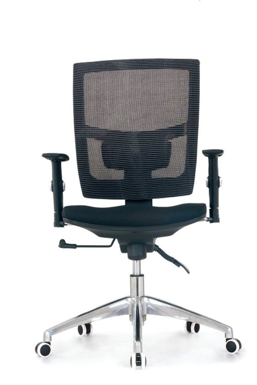 High back quality manager ergonomic computer black mesh swivel desk office chair with headrest -3