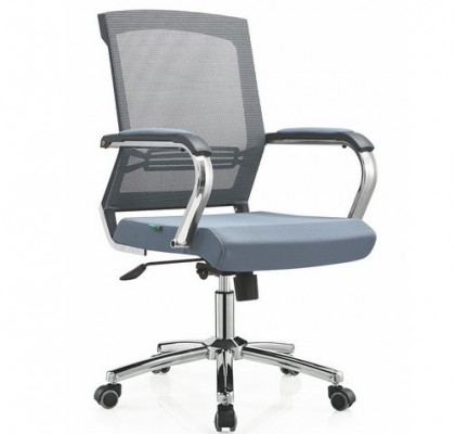 High quality Ergonomic Mesh Computer Office Desk Task Midback Staff Swivel Chair Foshan