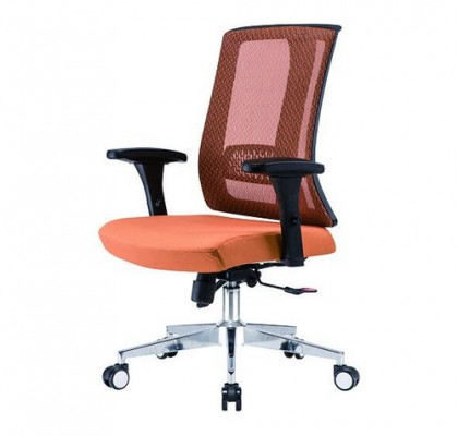 Latest design multifunction swivel staff computer seating ergonomic mesh office chair with armrest and wheels