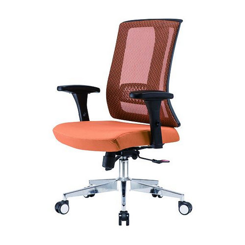 Latest design ergonomic mesh office chair with armrest and wheels -1