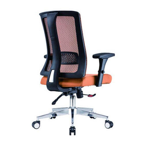 Latest design ergonomic mesh office chair with armrest and wheels -2