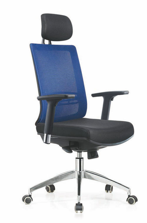 Modern computer chair racing seat high back swivel mesh office chair with headrest -1
