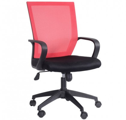 Modern various colors mesh staff chair swivel lift office computer chair commercial furniturefor sale