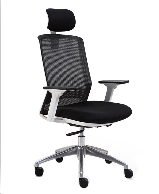 Multi function ergonomic executive manager mesh office chair computer chair with adjustable armrest -4