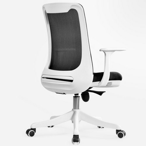 Professional staff computer office desk mid back task chair imported mesh best ergonomic conference chairs -4