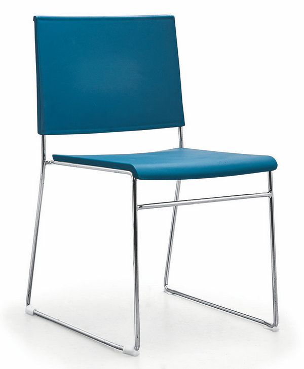 Wholesale Factory Price Stackable Office Chair Hall Conference Visitor Reception Chairs -2