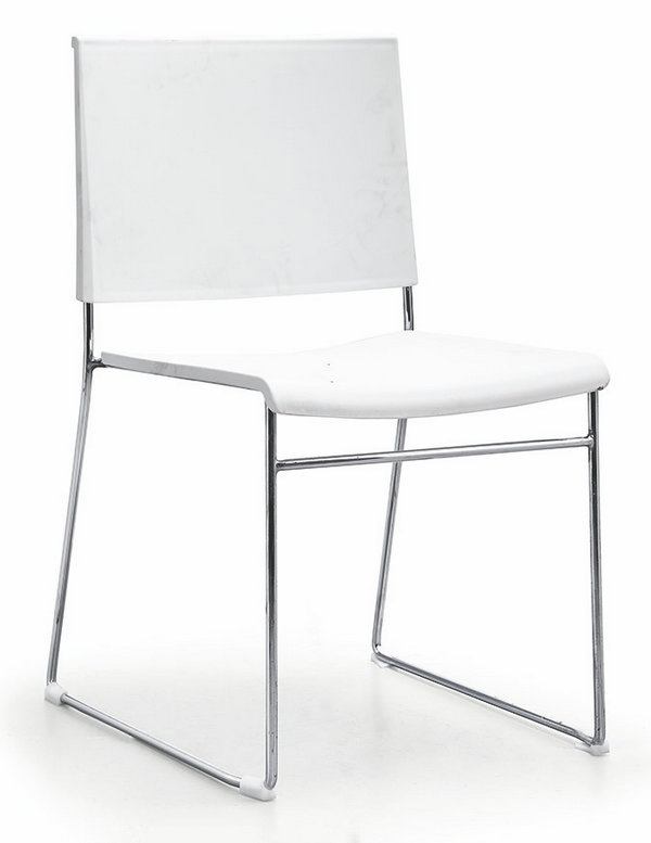 Wholesale Factory Price Stackable Office Chair Hall Conference Visitor Reception Chairs -3