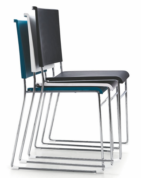 Wholesale Factory Price Stackable Office Chair Hall Conference Visitor Reception Chairs -4