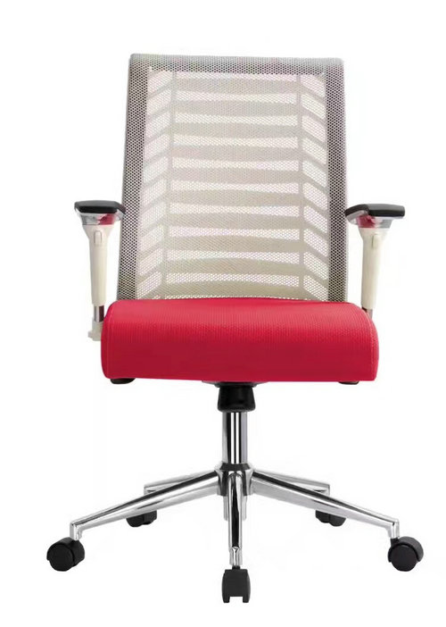 competitive mesh staff computer desk task gas lift swivel office chair with adjustable armrest -2