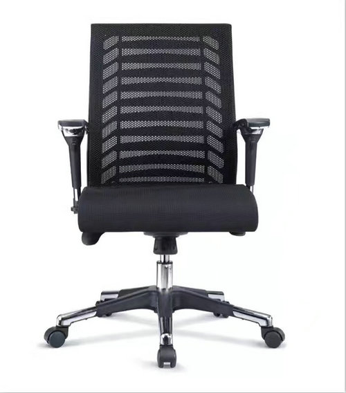 competitive mesh staff computer desk task gas lift swivel office chair with adjustable armrest -3