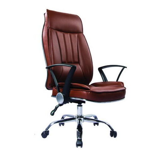 ergonomic high back PU leather executive unique design office chair -1