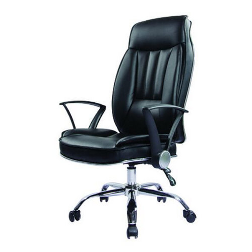 ergonomic high back PU leather executive unique design office chair -2