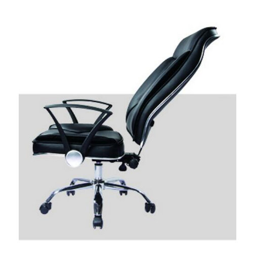 ergonomic high back PU leather executive unique design office chair -3
