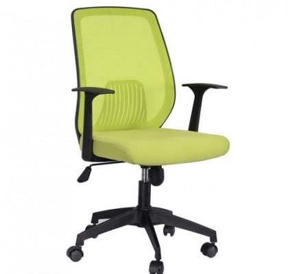 Promotion green mesh office computer chair staff durable task chair reception chair on sale