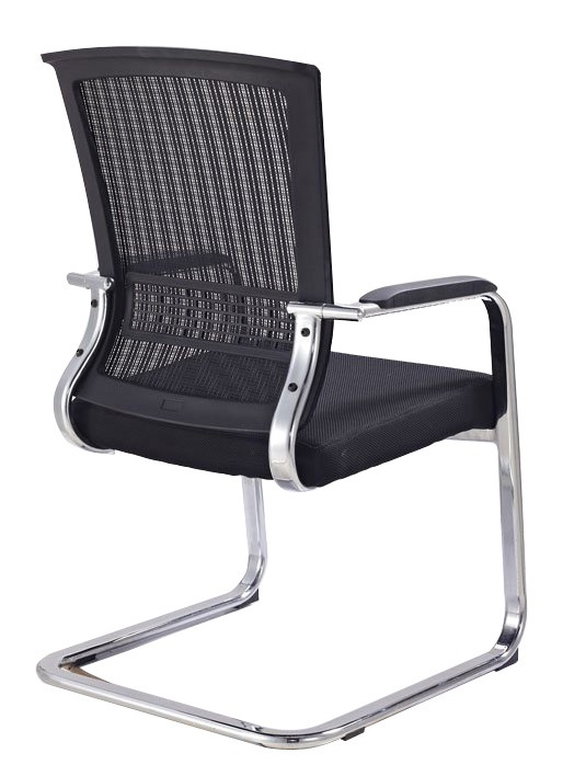 popular ergonomic office room visitor chair boardroom mesh chair meeting chair -2