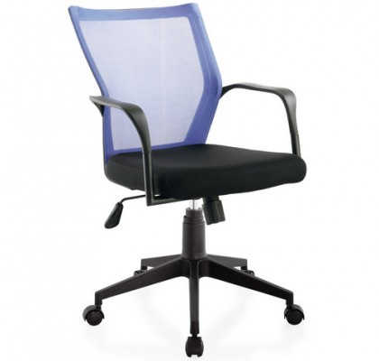 small size staff room ergonomic swivel chair low back plastic fabric computer employee chair