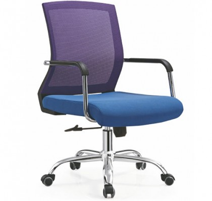 China CIFF mesh staff operator chair swivel lift office computer seating for conference room