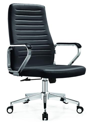Height Adjust PU Office Chair Senior PU Swivel Chair -1