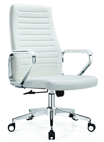 Height Adjust PU Office Chair Senior PU Swivel Chair -2