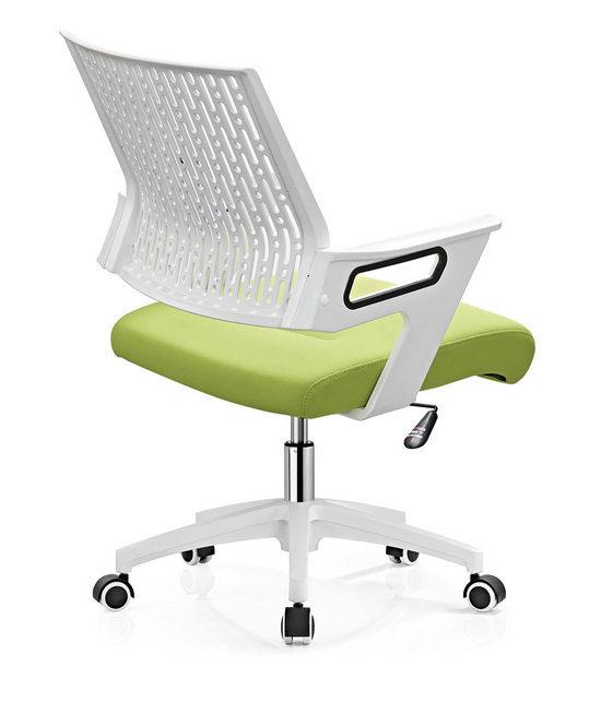 Mesh Operator Chair Swivel staff Chair Style office chair nylon base -2