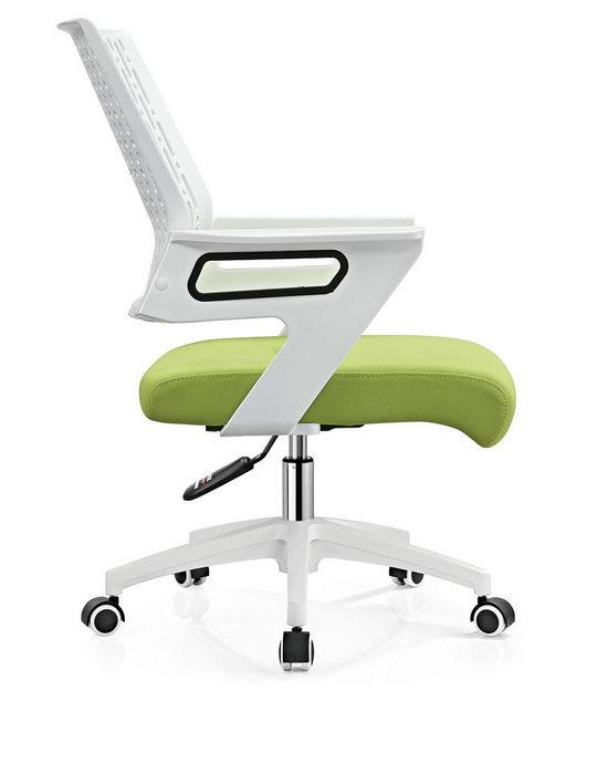 Mesh Operator Chair Swivel staff Chair Style office chair nylon base -3