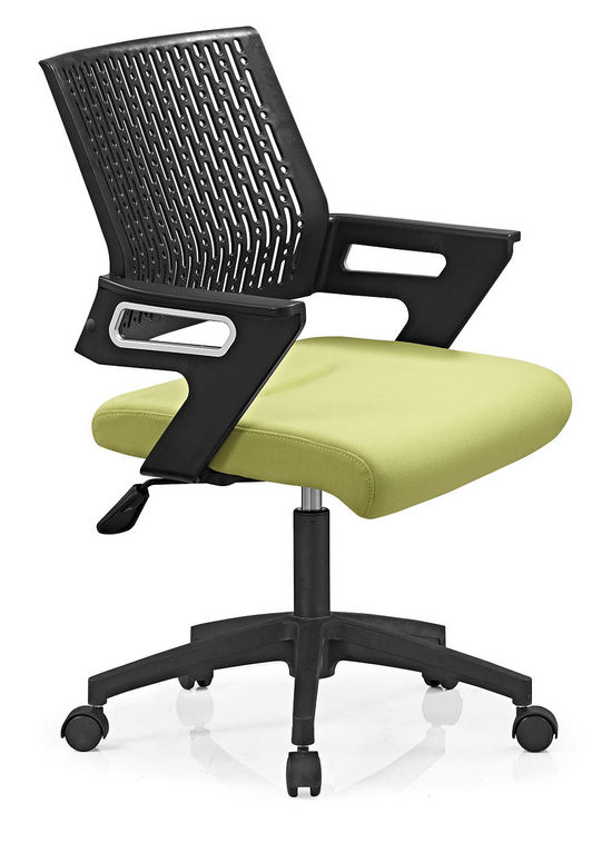 Mesh Operator Chair Swivel staff Chair Style office chair nylon base -4