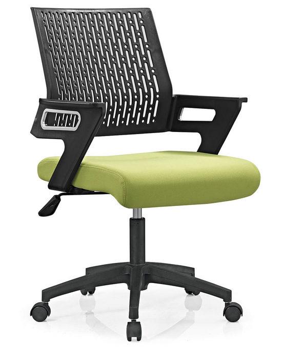 Mesh Operator Chair Swivel staff Chair Style office chair nylon base -5