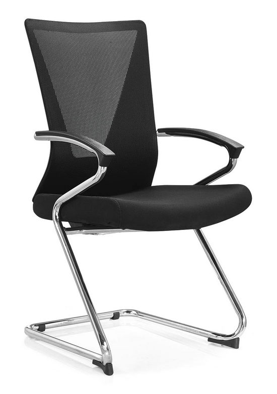 Stackable ergonomic conference chairs with arms -1