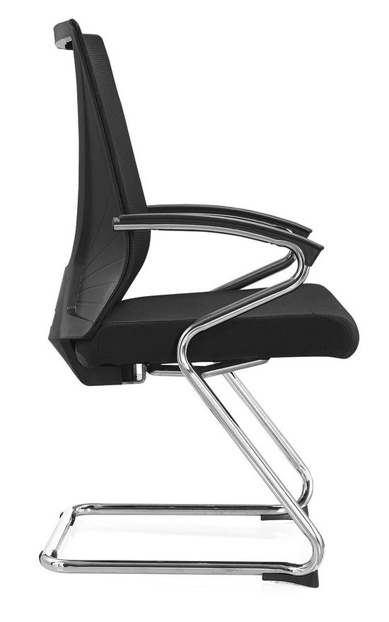 Stackable ergonomic conference chairs with arms -2