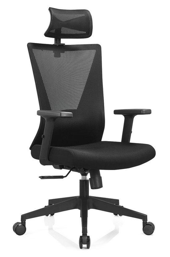 ergonomic modern mesh computer swivel executive office desk chair for hotel -4