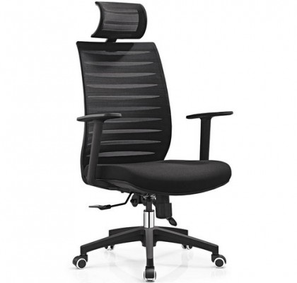 Guangzhou Ergonomic design Office Chair Mesh Executive Seats High Back Mesh Swivel Operator Chair